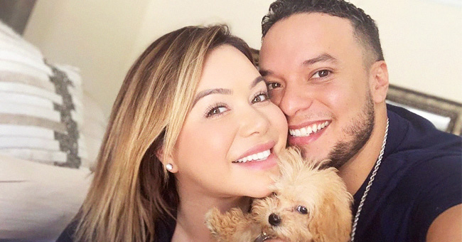 Lorenzo Méndez hace correr los rumores de embarazo de Chiquis con una foto, pero ella lo niega