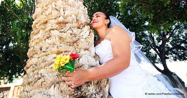 Mujeres del mundo entero se casaron con árboles, pero ¿por qué?