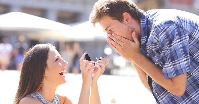 Une femme a prévu un faux mariage pour demander le témoin, désespéré de l'épouser, en mariage