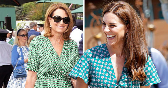 Carole Middleton Spotted at Wimbledon in a Dress Similar to Daughter Kate's
