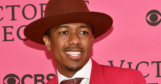 Nick Cannon's Daughter Powerful Looks Cute in a Pink Onesie with Frills during 1st Photo Shoot