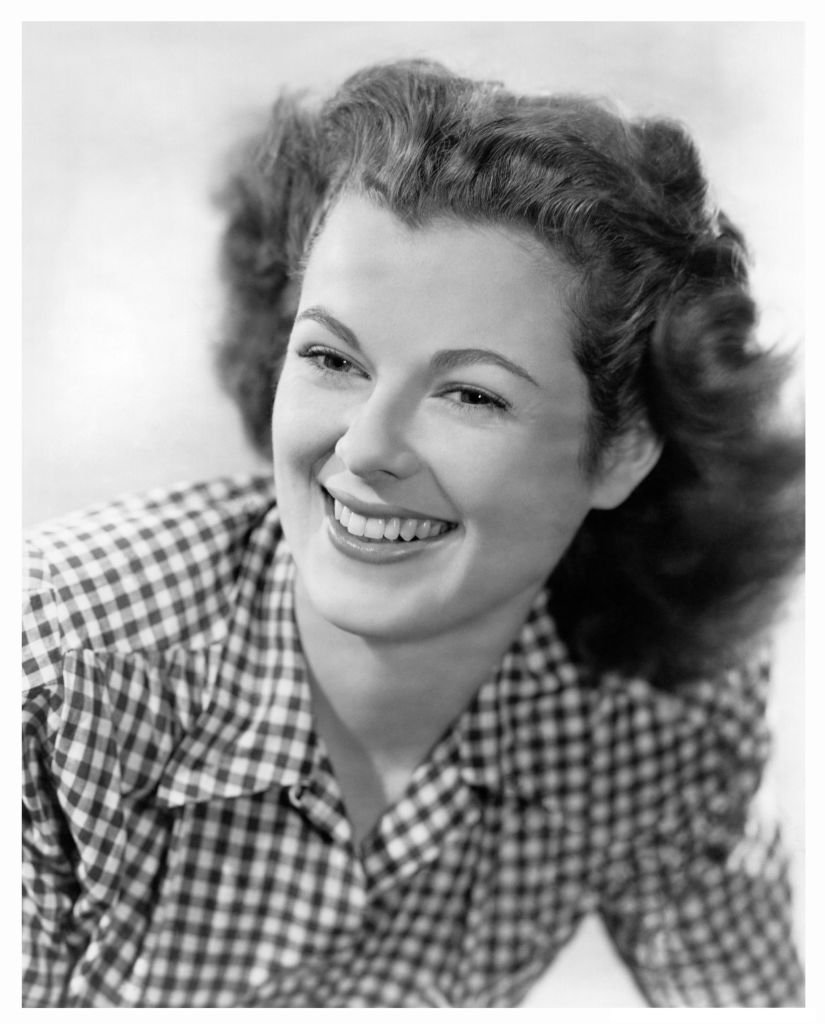 Barbara Hale in a publicity shot from the movie 'The Window', on 01 January, 1949 | Photo: Getty Images