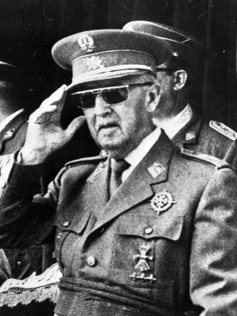 Francisco Franco 1975 | Imagen: Wikipedia
