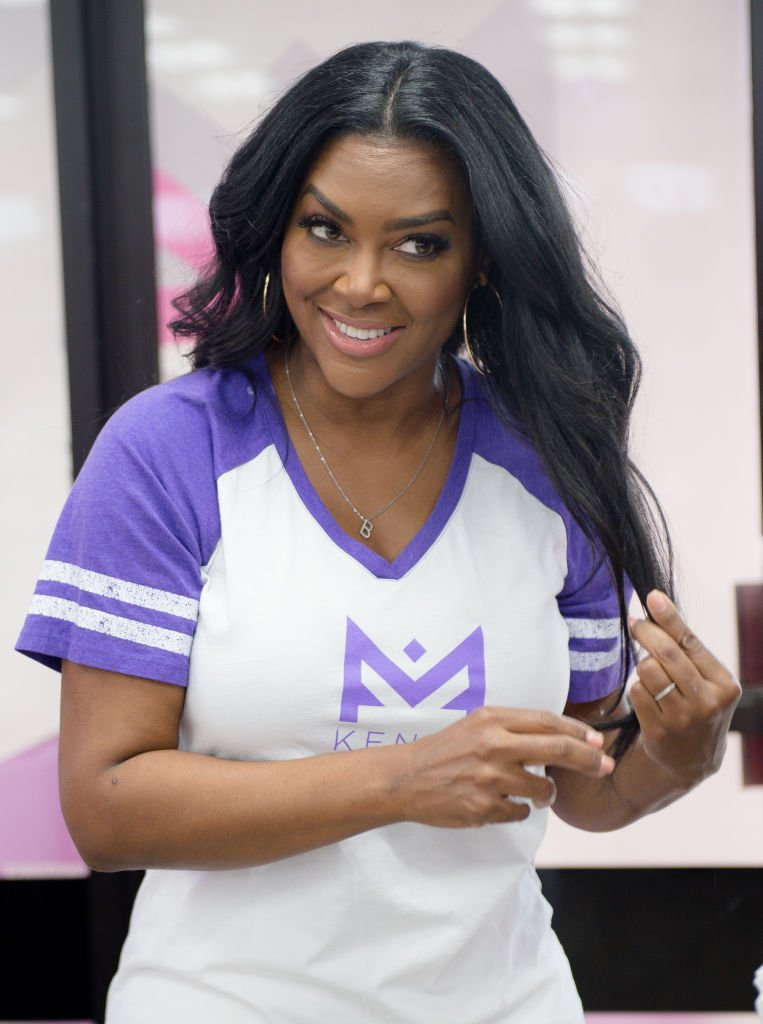 Actress Kenya Moore attends Sally Beauty in store appearance | Photo: Getty Images
