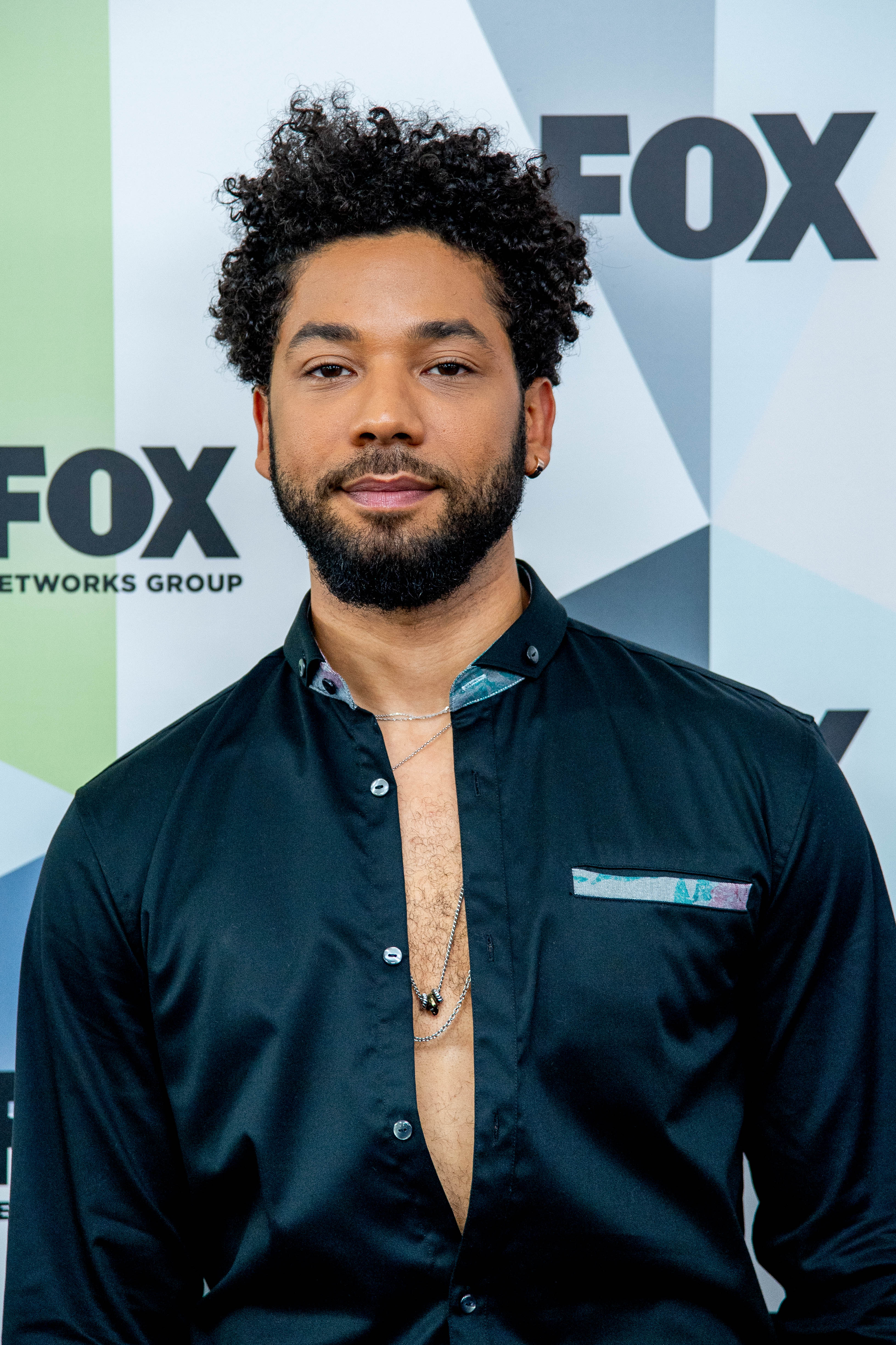Jussie Smollett attends Fox Upfronts in New York in May 2018 | Photo: Getty Images