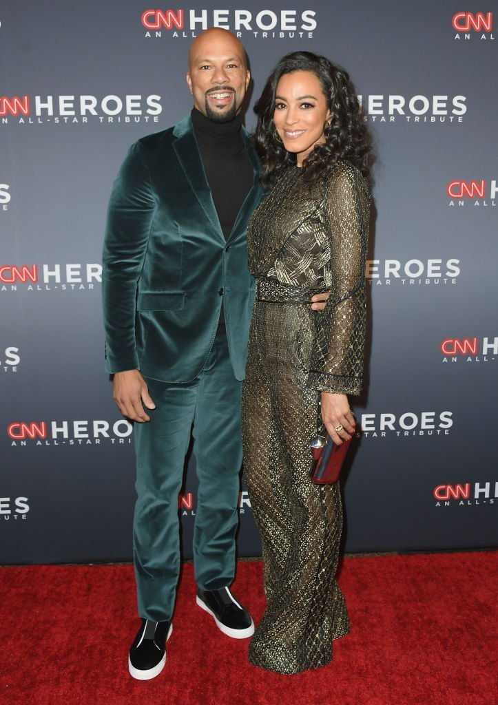 Common & Angela Rye at CNN Heroes on Dec. 17, 2017 in New York City | Photo: Getty Images