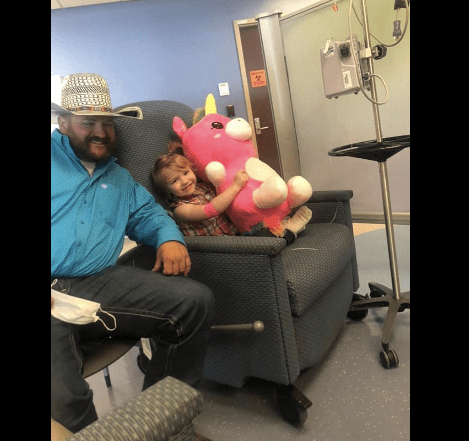 4-year-old Shyanna Jonas who just completed her chemotherapy treatment. | Photo: facebook.com/Shyanna's Glory Through HLH