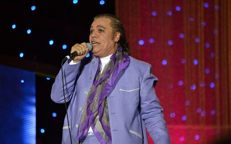 Juan Gabriel en Festival Festival Verano de Iquique. Año 2012. | Imagen: Wikipedia