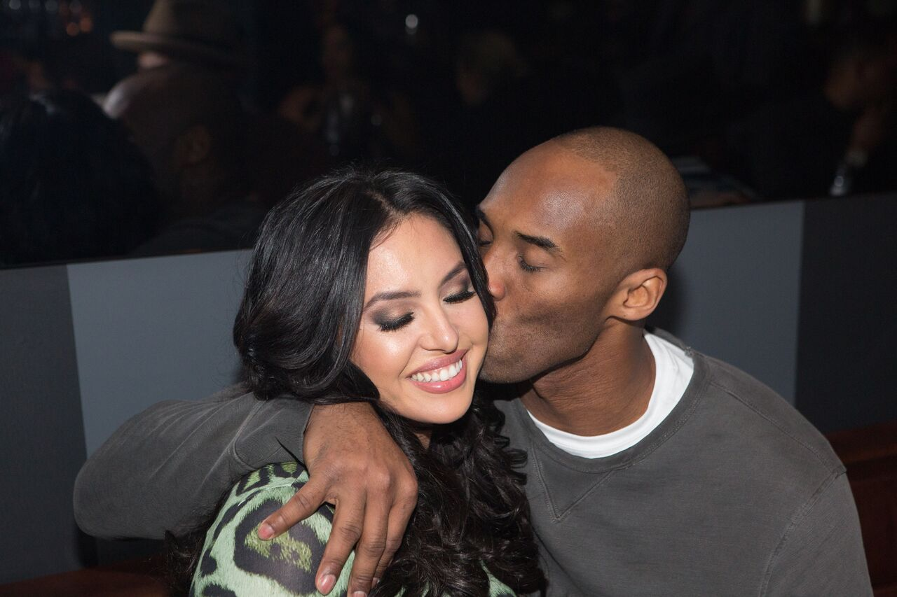 Kobe Bryant and his wife Vanessa/ Source: Getty Images