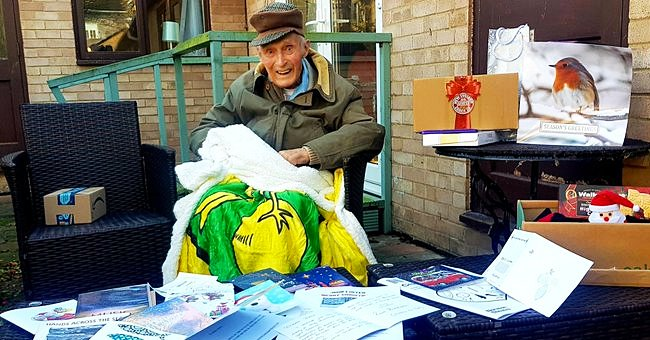 World War II Veteran, 101, Gets Thousands of Christmas Cards after His Wife of 70 Years Died