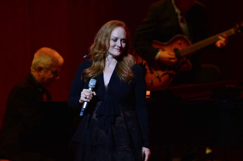 Antonia Bennett performs on stage as the open act for her father at Adrienne Arsht Center for the Performing Arts on March 21, 2019 in Miami, Florida.   Photo: Getty Images