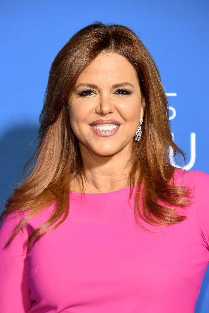 María Celeste asiste al NBCUniversal Upfront 2017.  Fuente: Getty Images