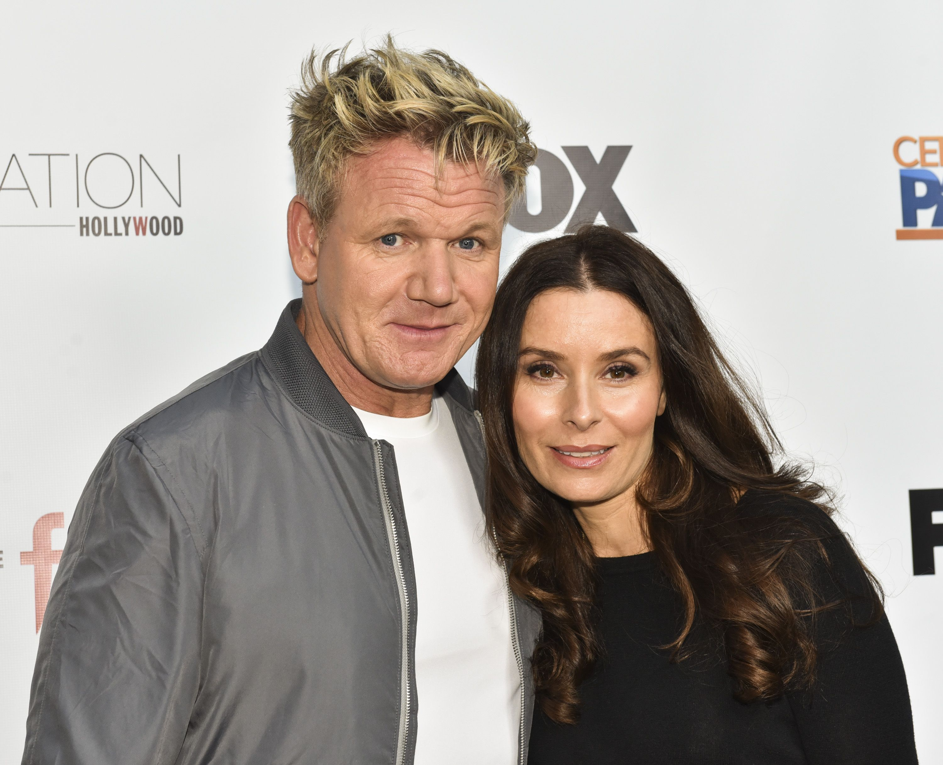 "Celebrity chef Gordon Ramsay and Tana Ramsay at ""The F Word"" celebration at Station Hollywood at W Hollywood Hotel on May 22, 2017 