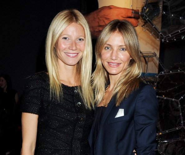 Gwyneth Paltrow and Cameron Diaz on October 5, 2011 in London, England. | Photo: Getty Images