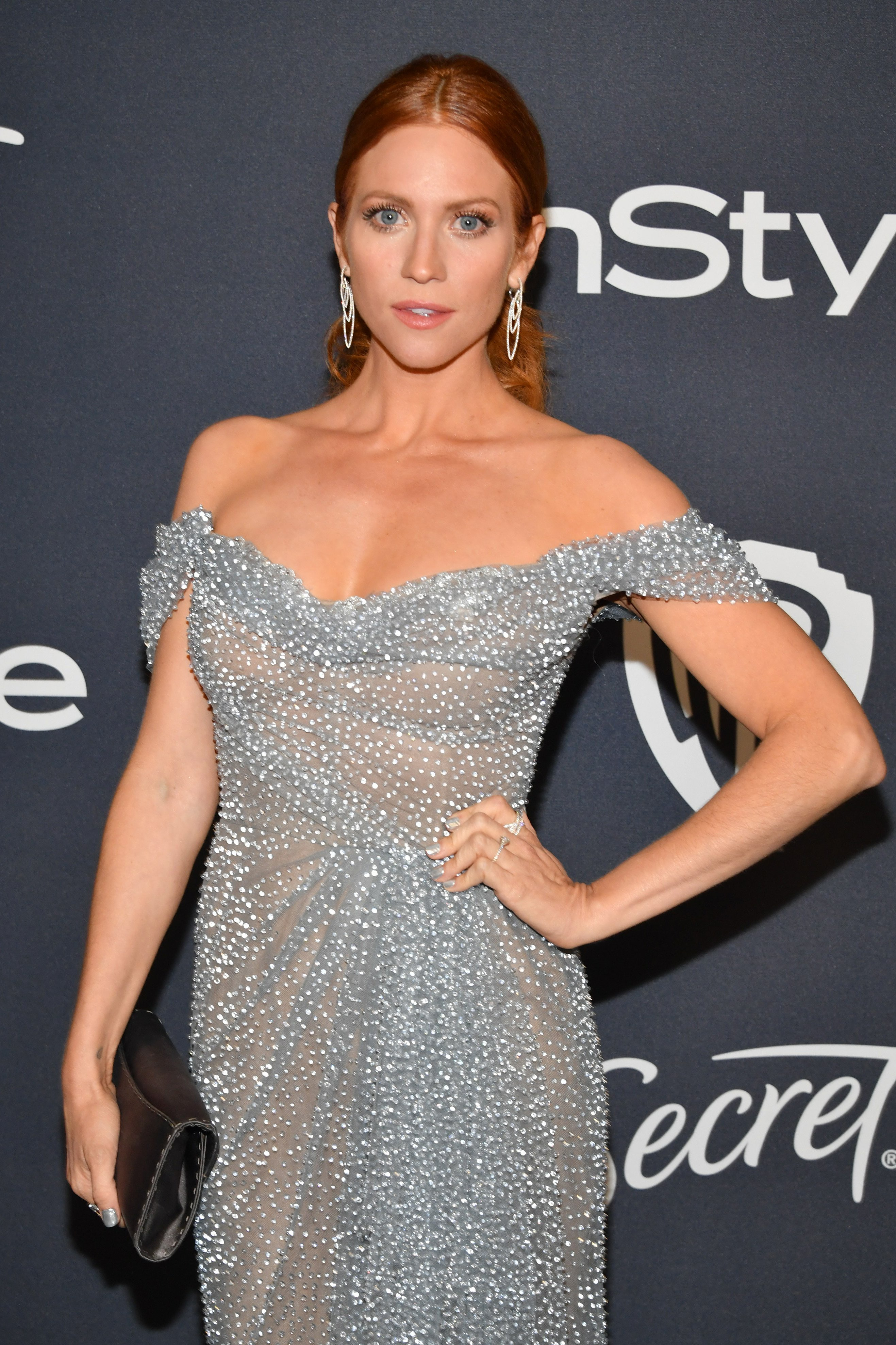 Brittany Snow attends the 2020 InStyle And Warner Bros. 77th Annual Golden Globe Awards Post-Party at The Beverly Hilton Hotel on January 5, 2020. | Photo: Getty Images
