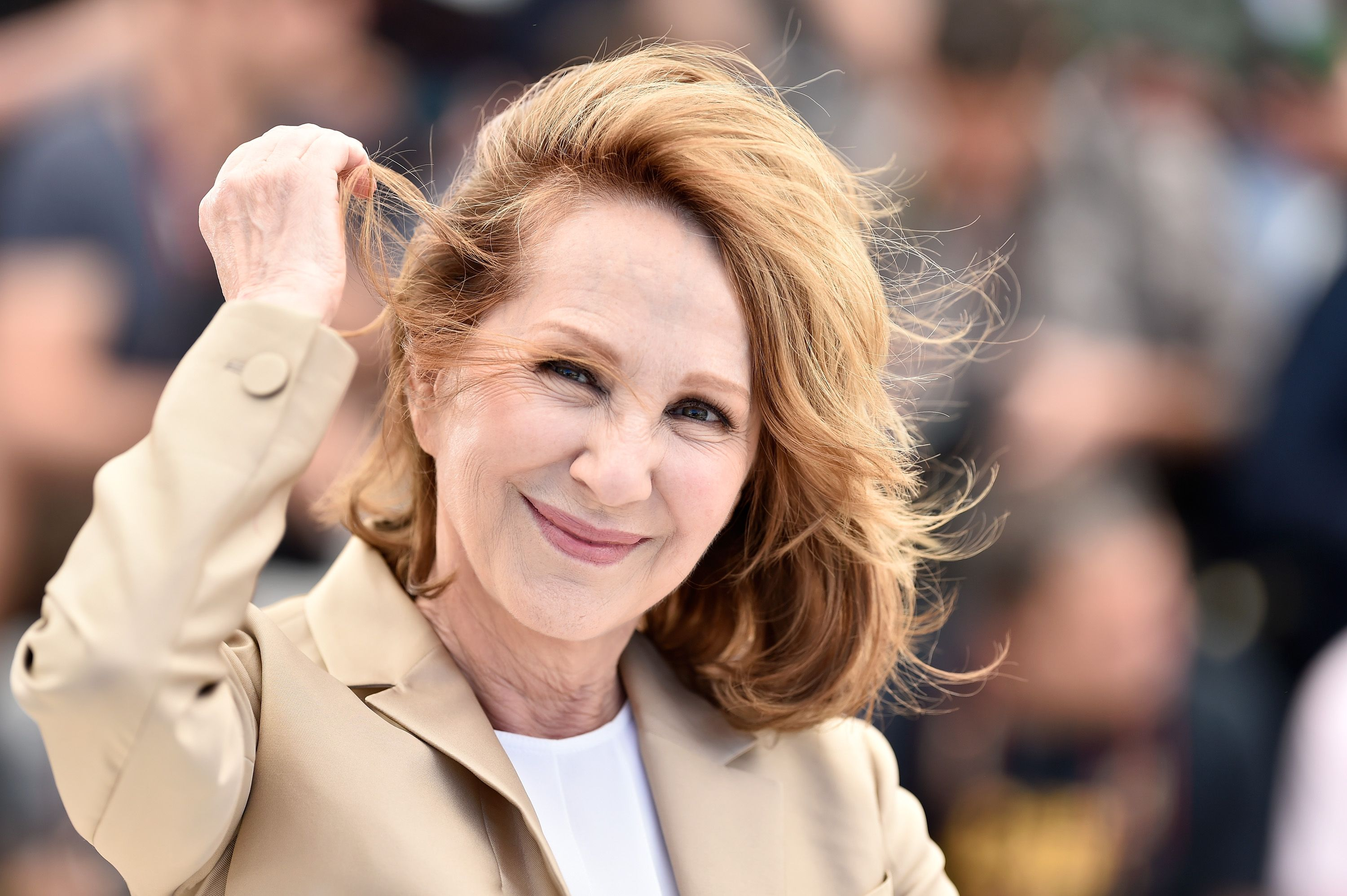 Nathalie Baye au Palais des Festivals le 19 mai 2016 à Cannes, France. | Photo : Getty Images