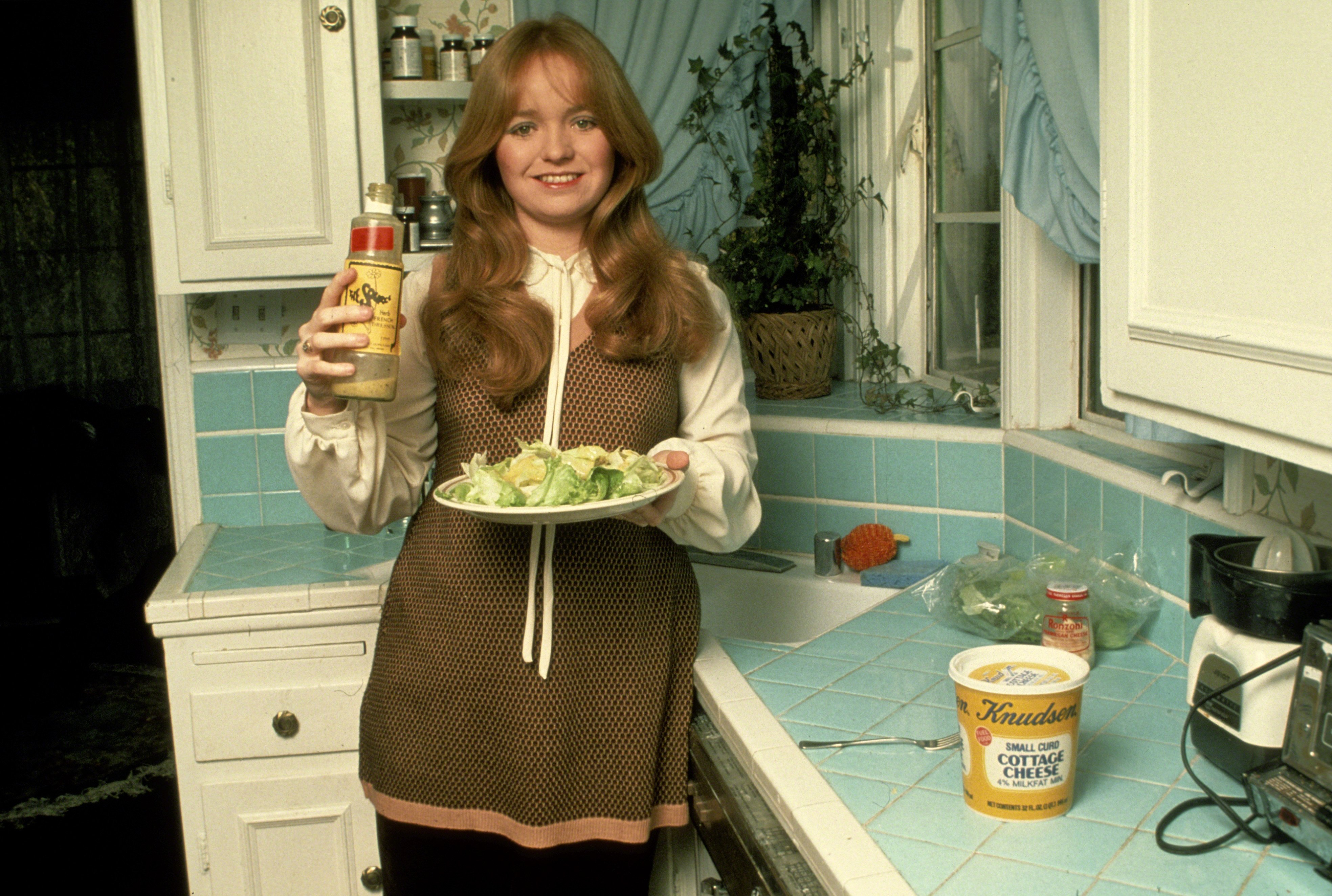 Susan Richardson at home circa 1979.   Source: Getty Images