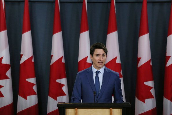Canada's Prime Minister Justin Trudeau attends a news conference in Ottawa, Canada | Photo: Getty Images