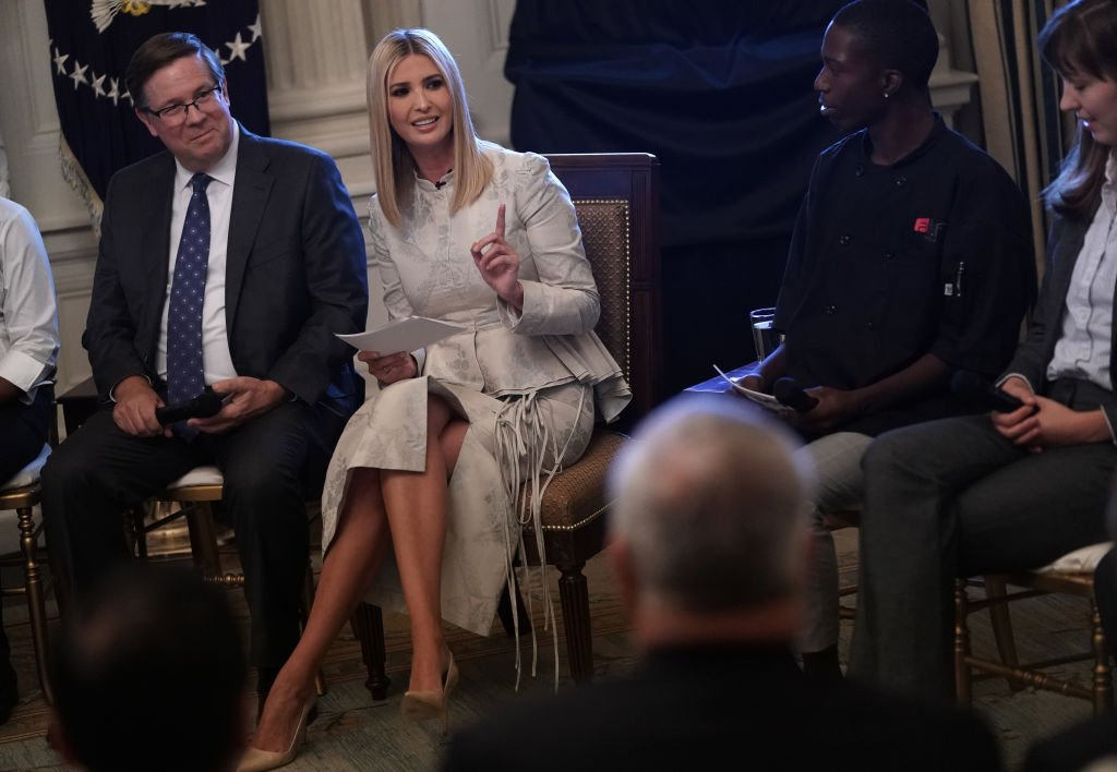Ivanka Trump attends the one-year celebration of President Donald Trump's Pledge to America's Workers in July 2019 at the White House | Photo: Getty Images
