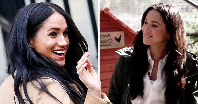 Meghan Markle Sports a Stylish $60 J Crew Jacket While Showing Oprah Her Family's Chicken Coop