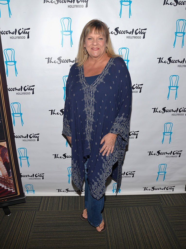 Kim Zimmer on February 9, 2015 in Los Angeles, California | Source: Getty Images/Global Images Ukraine