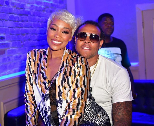 Monica and Shannon Brown at Metropolitan Nightclub on July 3, 2017   Photo: Getty Images