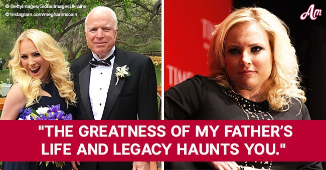 Meghan McCain hits back at POTUS for criticizing her father