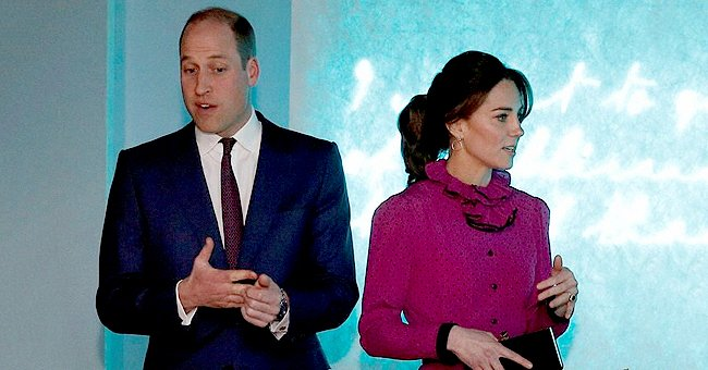 Kate Middleton Turned Heads in Pink & Black Dress Paired with Heels While in Ireland
