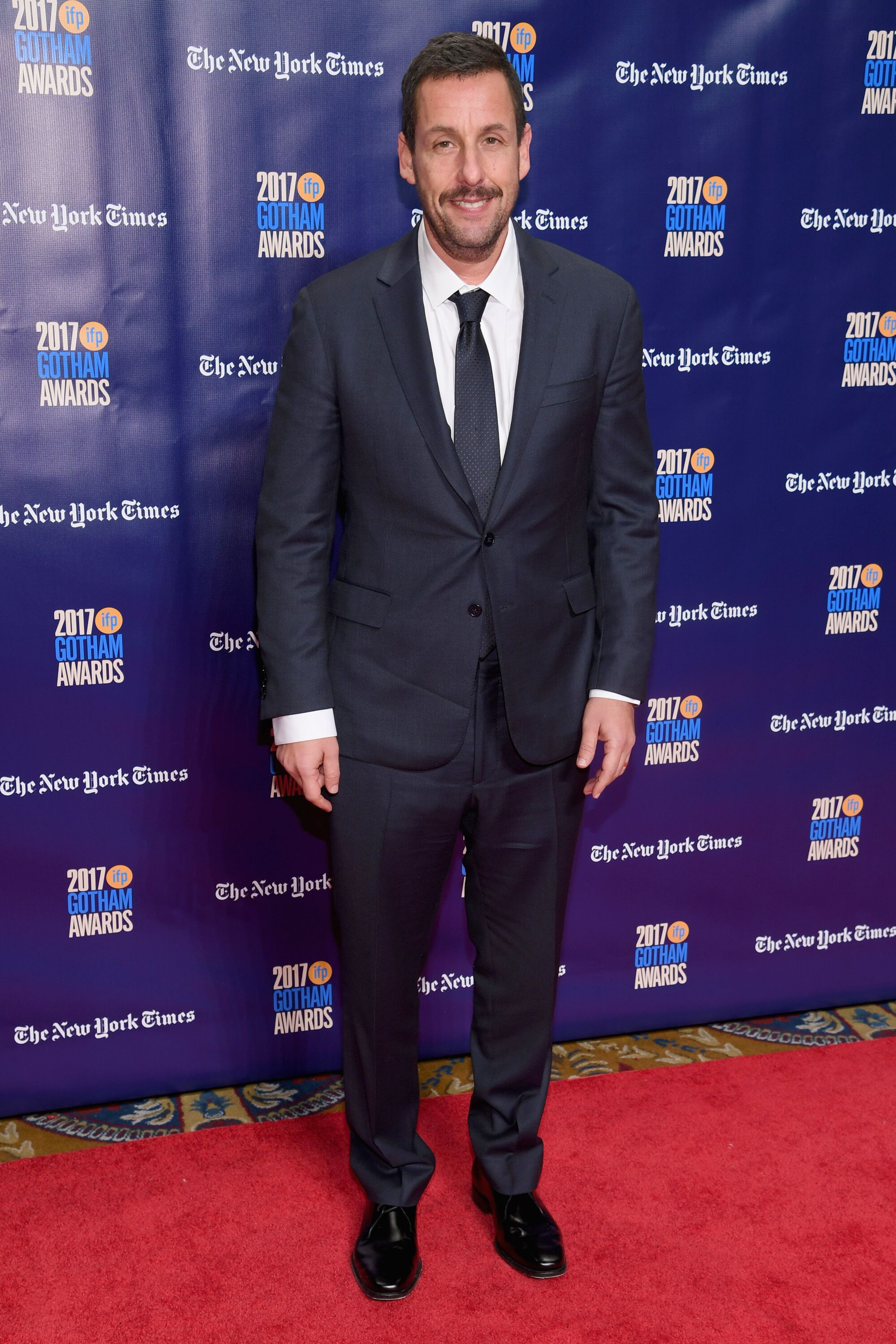 Adam Sandler attends IFP's 27th Annual Gotham Independent Film Awards.   Source: Getty Images