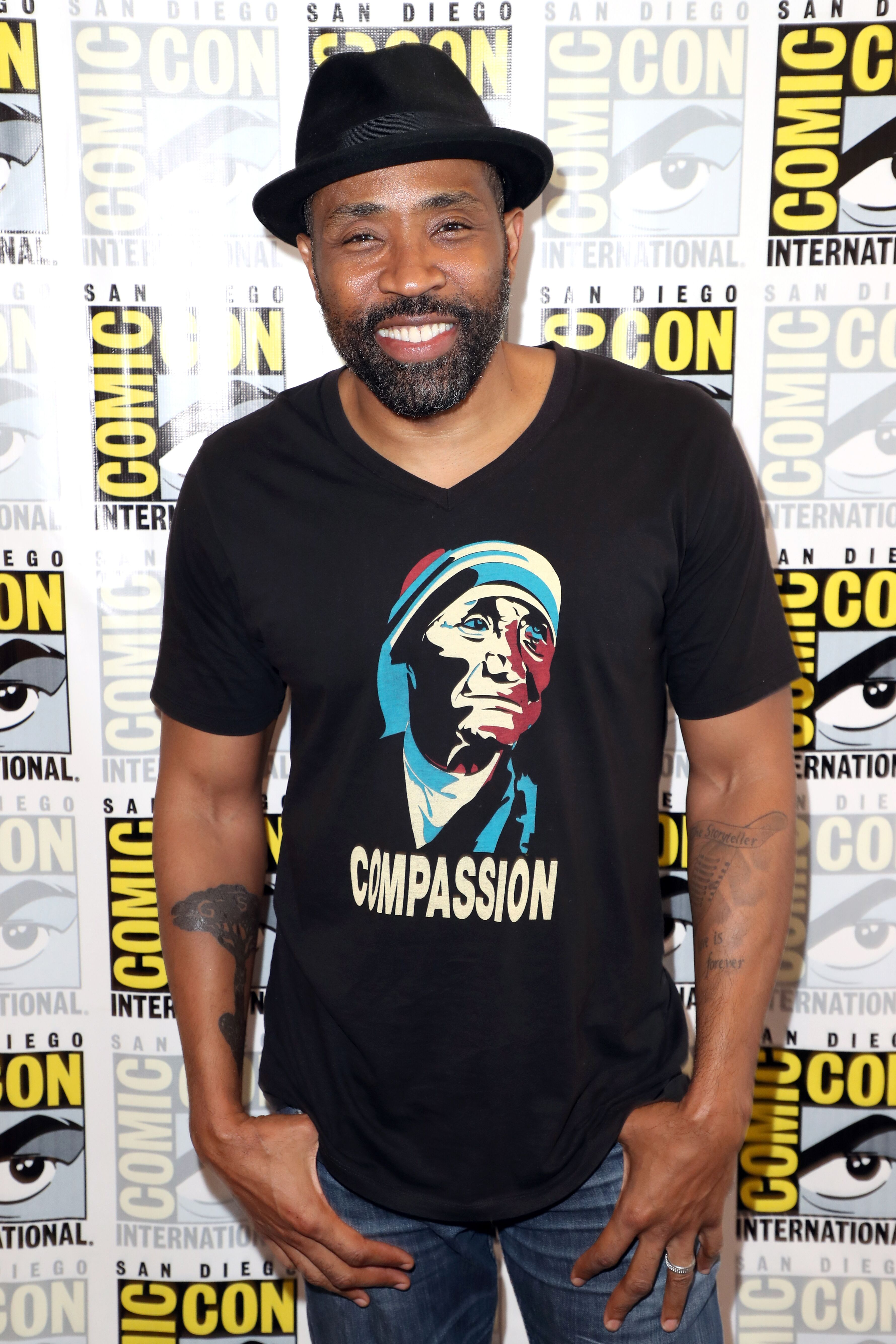 Cress Williams attends the 'Black Lightning' Press Line during Comic-Con International 2018 at Hilton Bayfront  | Getty Images