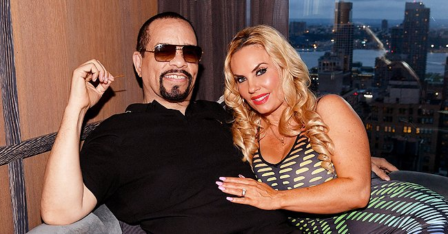 Check Out This Interesting Workout Out Ice-T's Wife Coco Austin Showed off with Her Sister
