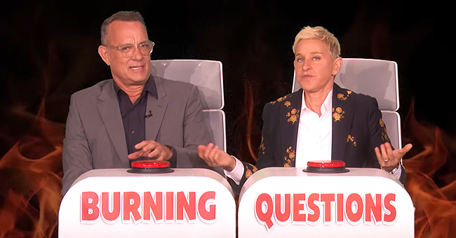 Tom Hanks Revealed to Ellen Degeneres Which of His Co-Stars He Was Most Nervous to Kiss