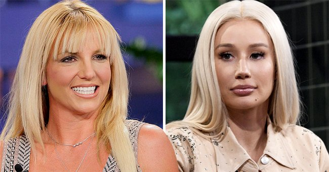 Portraits of Britney Spears and Iggy Azalea   Photo: Getty Images
