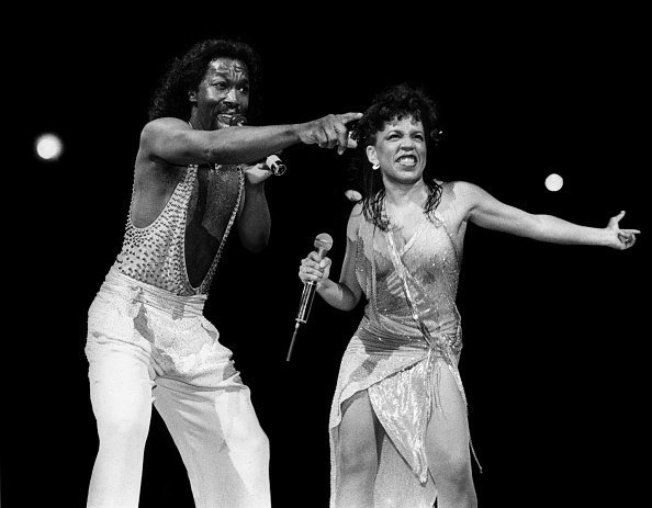 Singer songwriters Nick Ashford and Valerie Simpson in 1984 | Photo: Getty Images