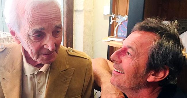 Jean-Luc Reichmann rend un nouvel hommage à Charles Aznavour