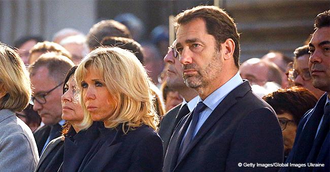 Après l'incendie de Notre-Dame, Brigitte Macron apparaît à la messe chrismale (Photos)