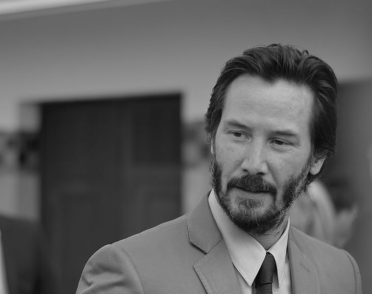 Keanu Reeves en 2015. l Source: Wikimedia Commons