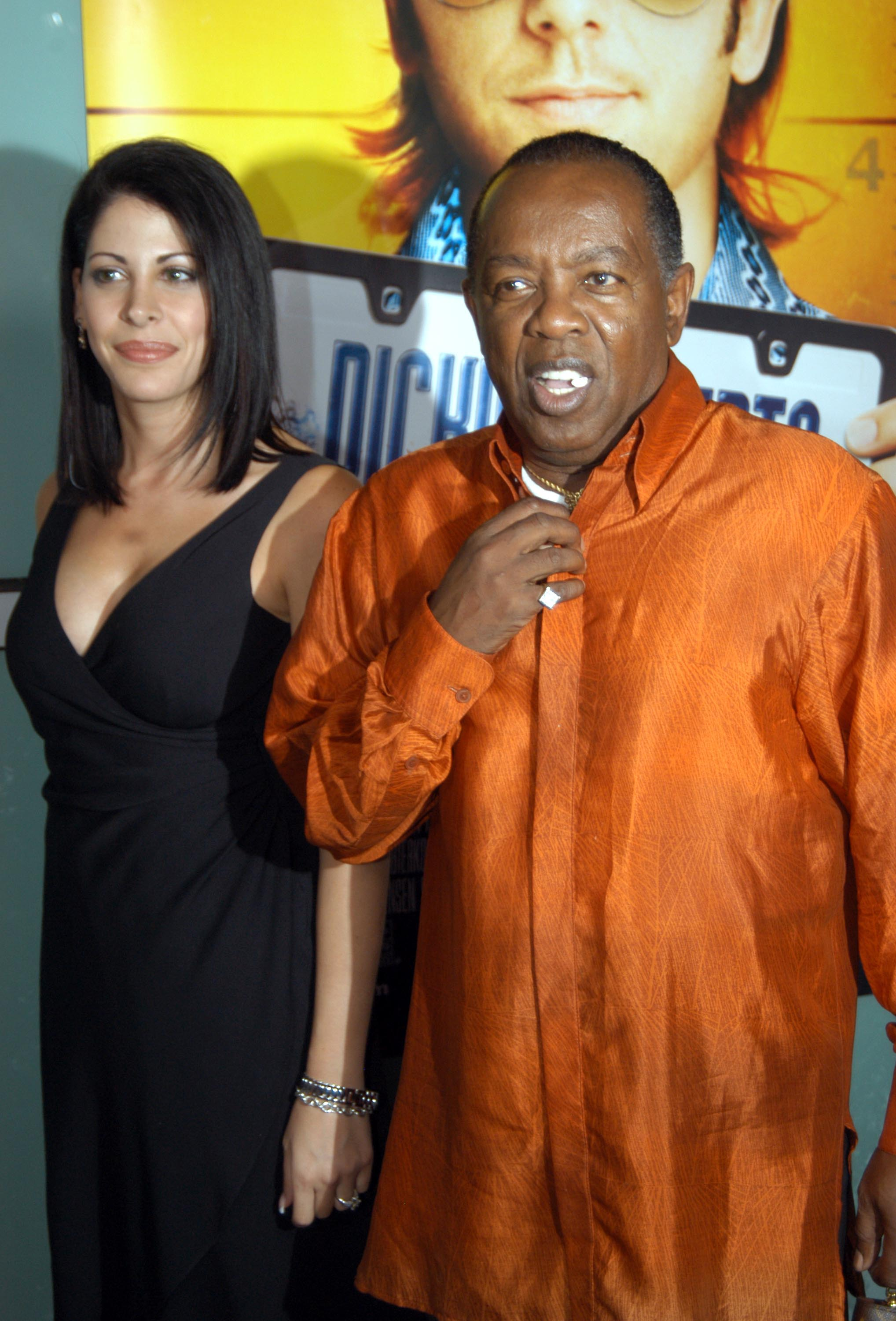 Lou Rawls during World Premiere of Dickie Roberts: Former Child Star at Cinerama Dome in Hollywood, California on September 3, 2003. | Photo: Getty Images