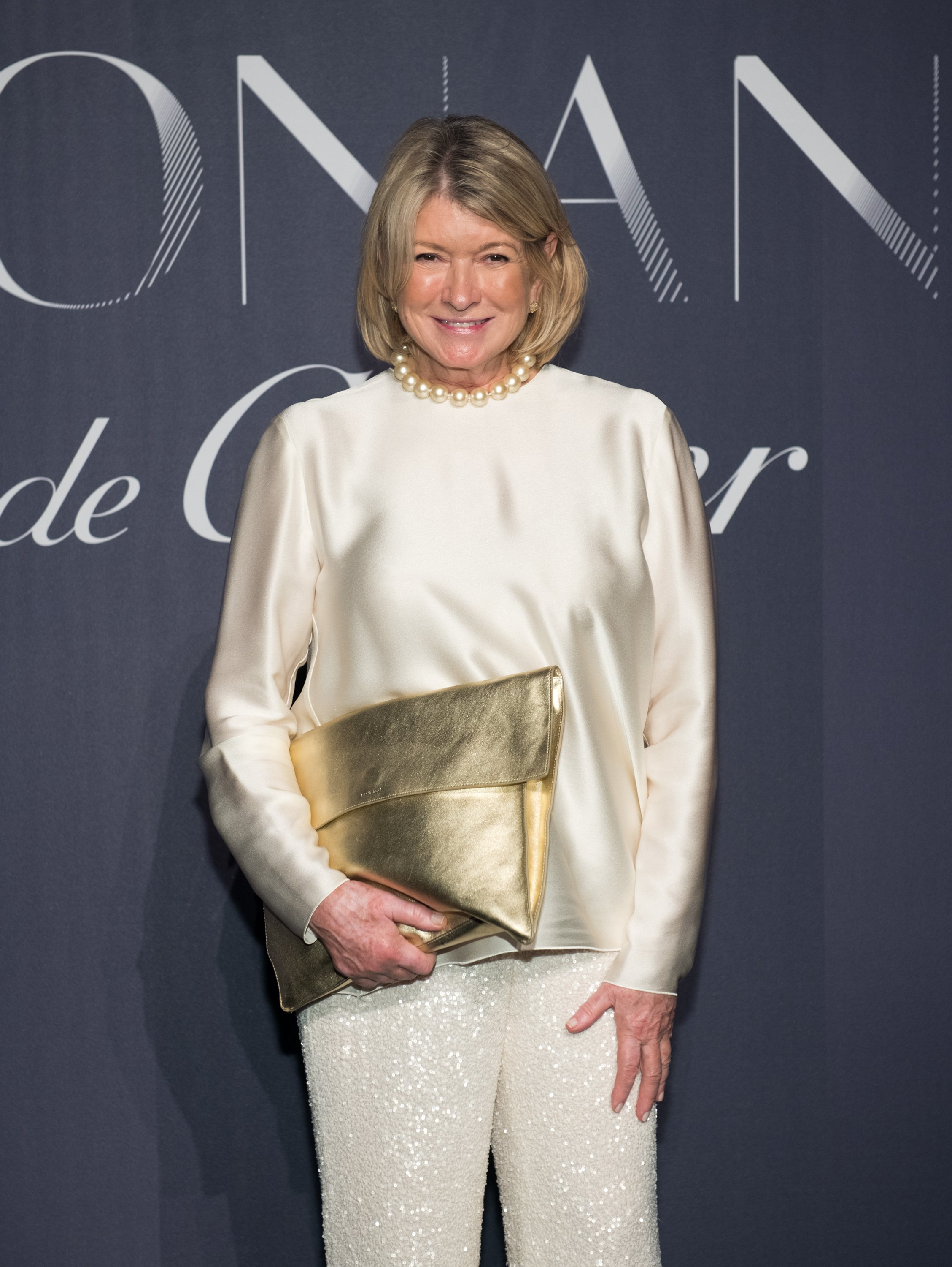 Martha Stewart attend a jewelry exhibit in New York City in 2017. | Photo: Getty Images