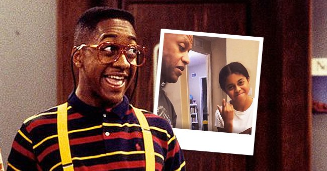 Jaleel White AKA Urkel from 'Family Matters' Shares Clip of His Dad and Daughter Samaya Showing Their Likeness