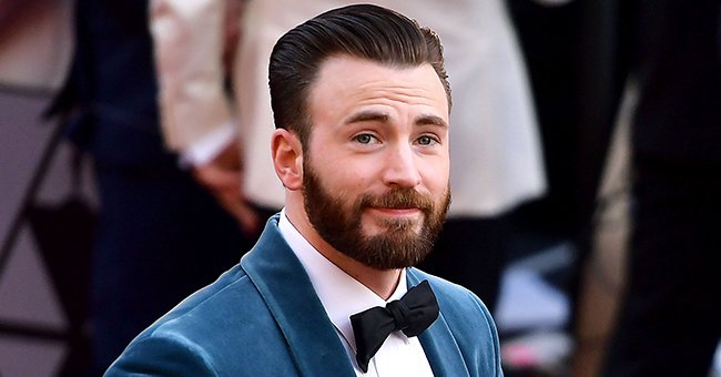 Glimpse at 'The Avenger' Star Chris Evans' Tattooed Torso as He Does a Backflip into His Pool
