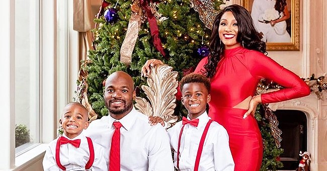 Meet NFL Player Adrian Peterson's Family Who He Loves to the Moon and Back