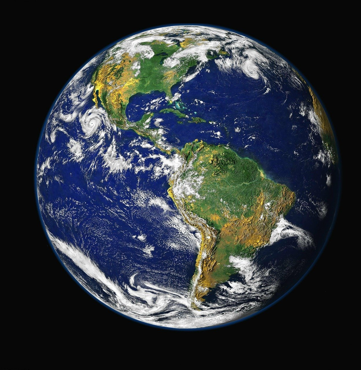 A close-up image of the planet Earth   Photo: Pixabay/WikiImages