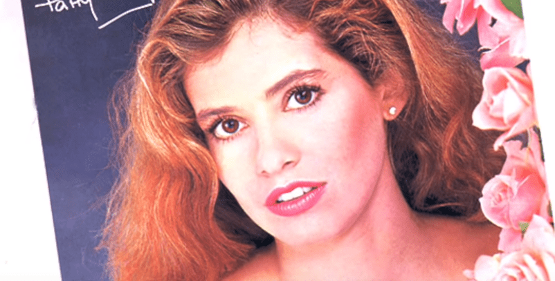 Close-up de Patricia Pereyra en su juventud. | Foto: YouTube /  ALEJANDRO ZUNIGA RECORDANDO