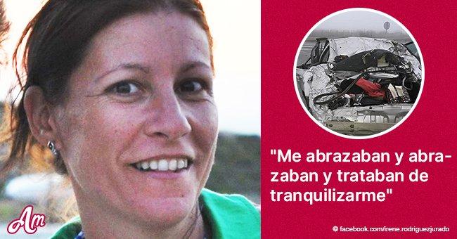 Mujer pide ayuda para encontrar a las buenas samaritanas que la ayudaron tras brutal accidente