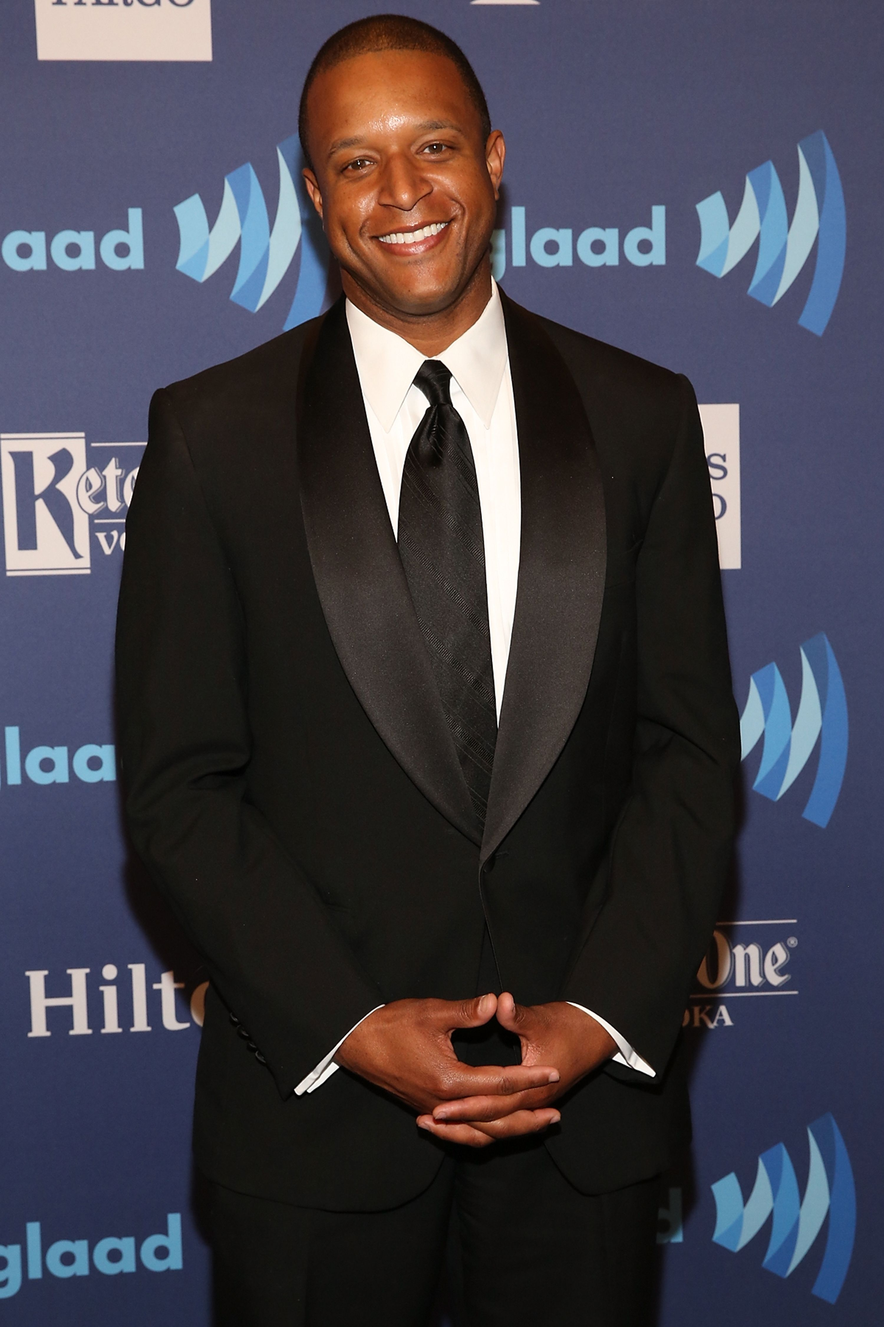 Craig Melvin attends the 26th Annual GLAAD Media Awards at The Waldorf Astoria on May 9, 2015. | Photo: Getty Images