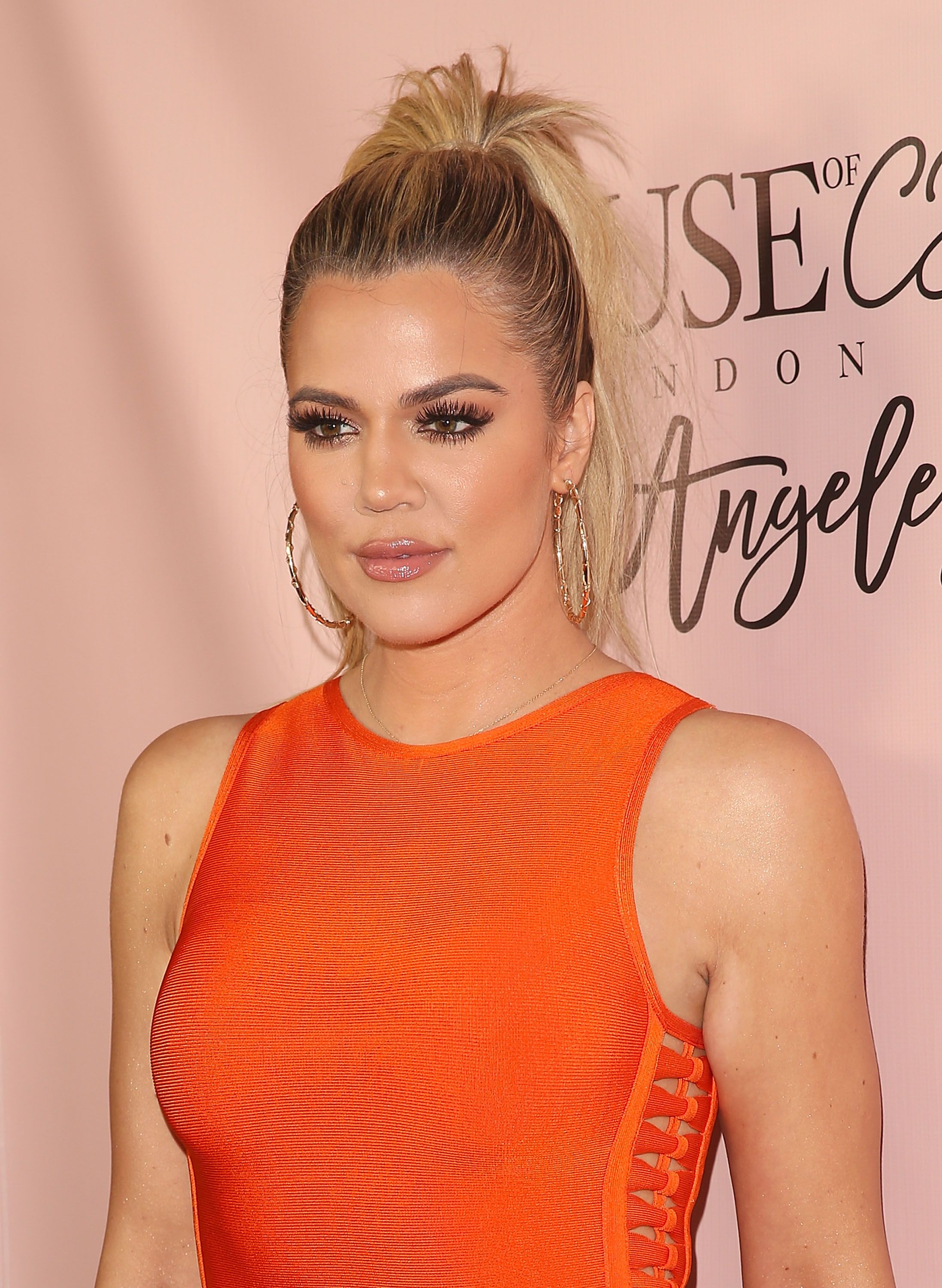 Khloé Kardashian arrives on the red carpet for the House of CB Flagship Store Launch party on June 14, 2016, in West Hollywood, California | Source: Allen Berezovsky/Getty Images for Fashion Media