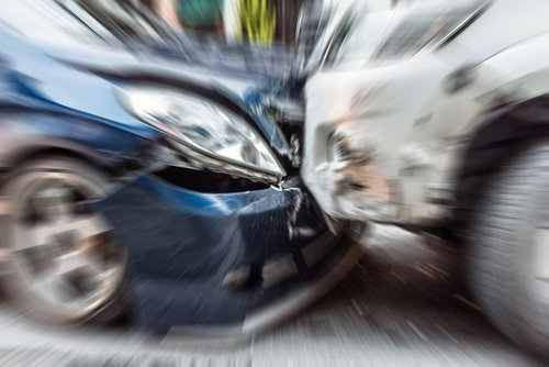 Blurred zoom from car crash.| Photo: Shutterstock.