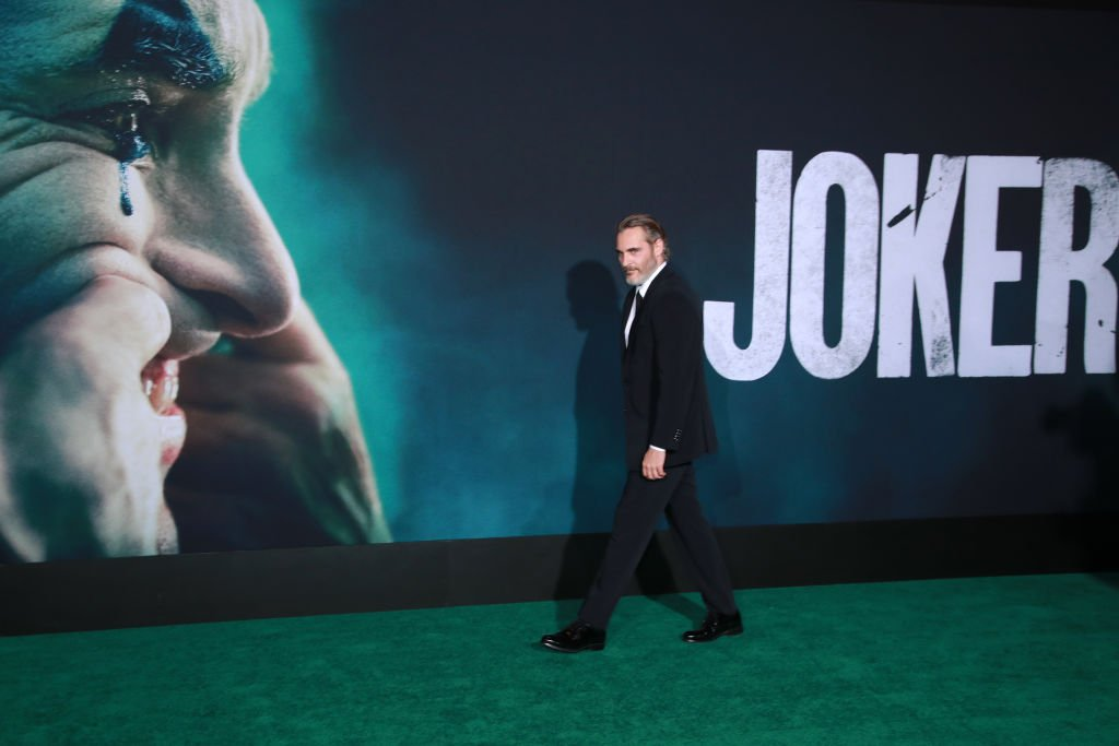 "Joaquin Phoenix attends the premiere of Warner Bros Pictures ""Joker""  