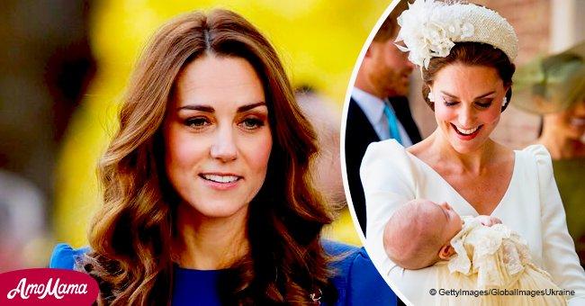 """Kate Middleton révèle que bébé Louis est un """"rapide rampeur"""" tout en parlant de son jalon passionnant"""